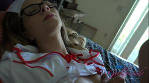 Your new sexy nurse wants your load.